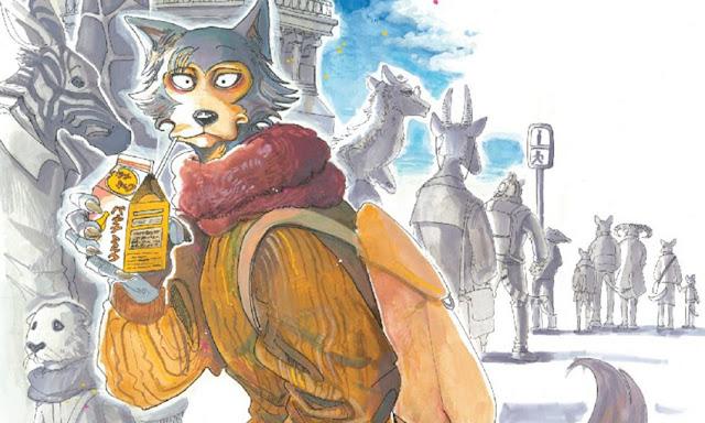 Paru itagaki, autora de Beastars, comenzará un nuevo manga próximamente