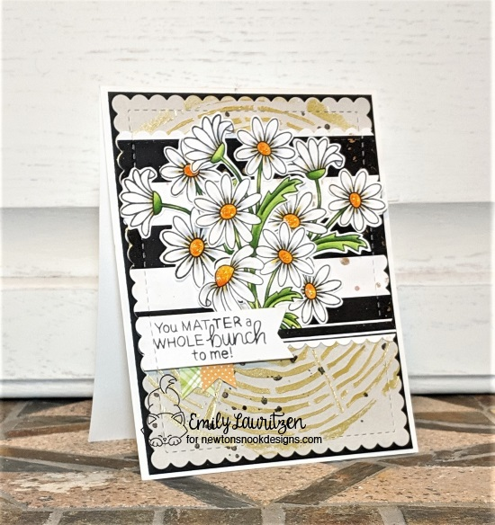 You matter a whole bunch by Emily features Tree Rings, Dainty Daisies, and Frames & Flags by Newton's Nook Designs; #newtonsnook