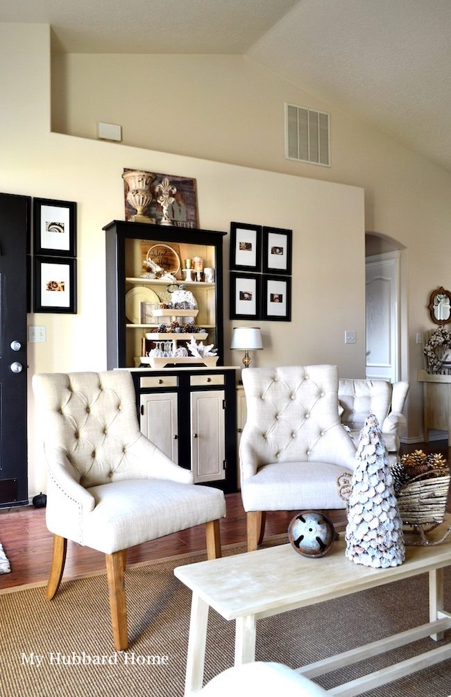 Home for the Holidays Christmas Tour by My Hubbard Home featured at Pieced Pastimes