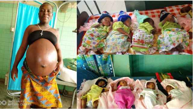 Nigerian Woman Delivers Set of Quadruplets After 24 Years Of Marriage