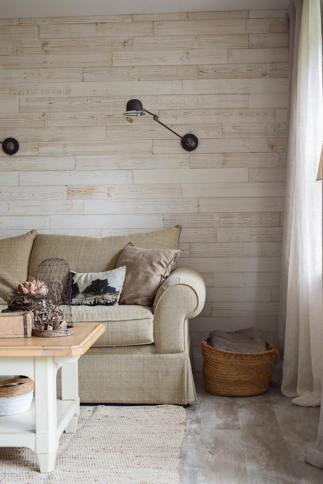 Wohnzimmer Ideen im Landhaus Stil einrichten. Deko Dekoideen natürlich dekorieren. Naturdeko