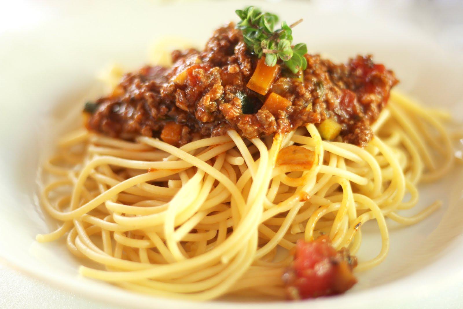 Spaghetti Bolognese à la Yushka
