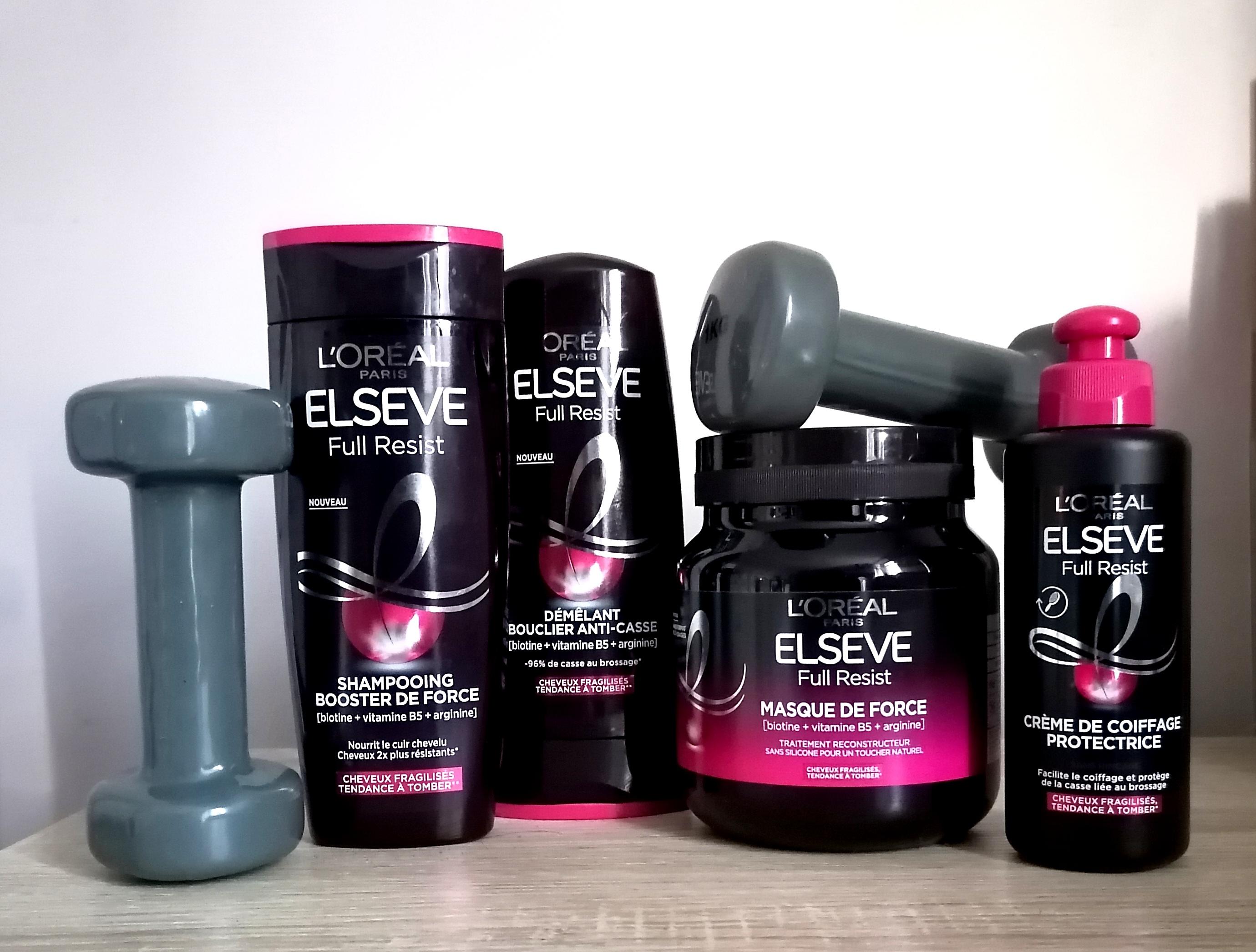 Renforcement capillaire 💪🏽 : la gamme Full Resist d'Elseve, LA solution pour les cheveux fatigués et fragilisés?