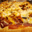 Cooking at Café D: Tasty Leftovers - Quick 3 Cheese BBQ Pork Pizza