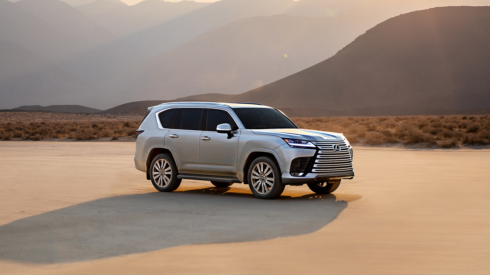A Flagship SUV is Born: Introducing the All-New 2022 Lexus LX 600