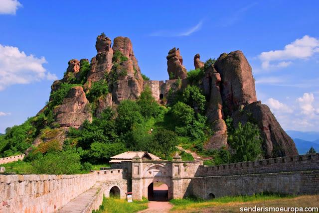 La fortaleza de Belogradchik, Bulgaria