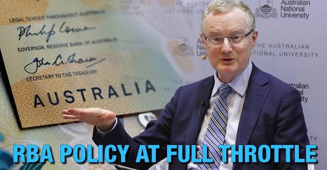 Australia Monetary Policy at Full Throttle, Reserve Bank of Australia Gov. Philip Lowe