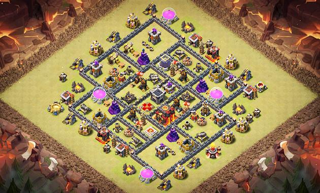Base War Th 9 Paling Susah Ditembus 10
