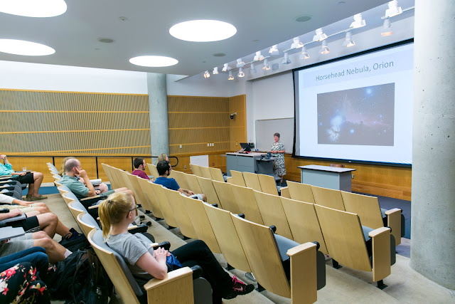 Astronomy lecture at Trinity University
