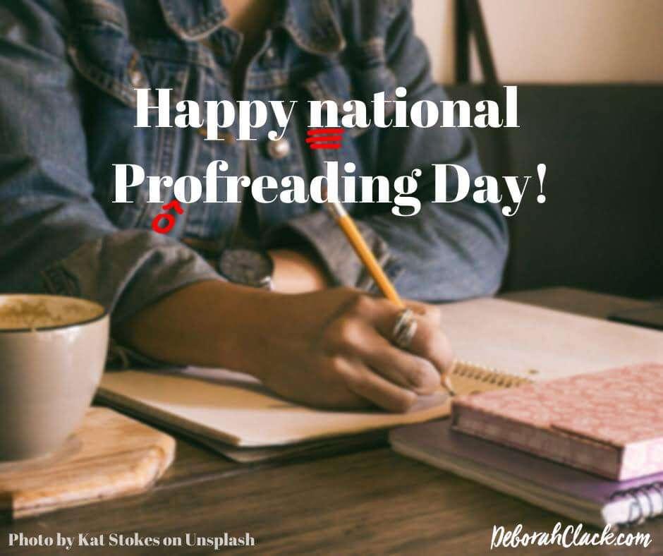 National Proofreading Day Wishes Beautiful Image