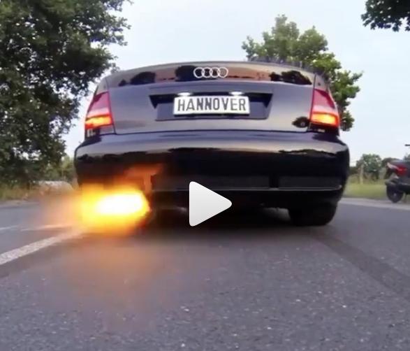 Audi RS4 Limo 2,8 sec. 0-100 km/h
