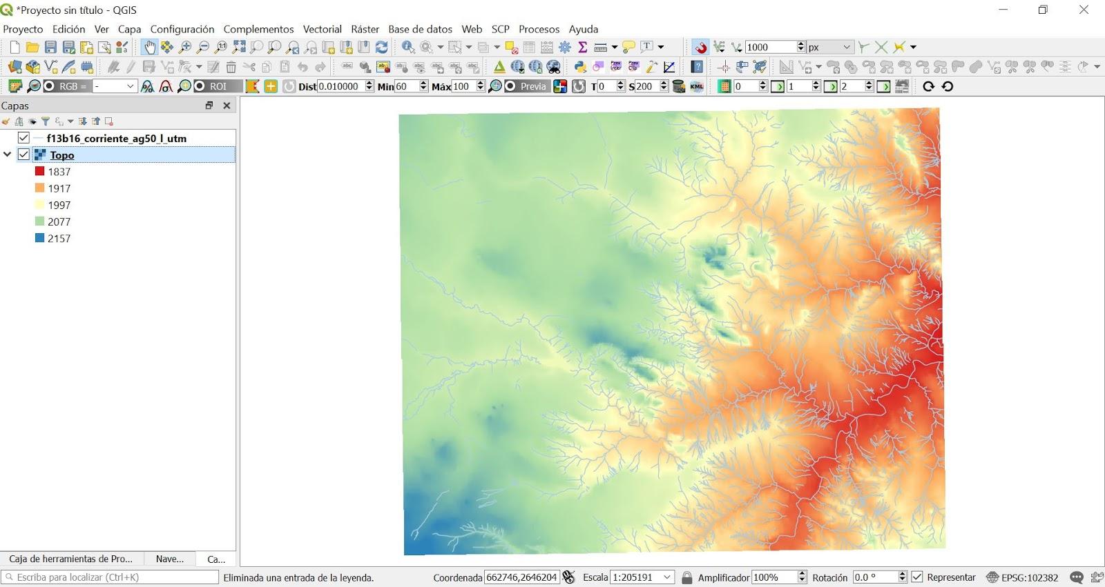 Blog SIG: Como visualizar mapas 3D en QGIS 3xx