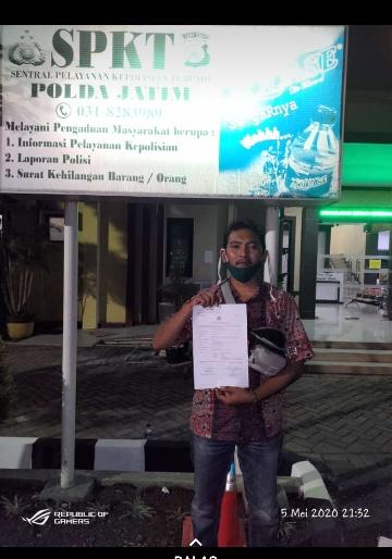 Ijin Pengurusan Pom Mini, Berujung Pelaporan di Polda Jatim