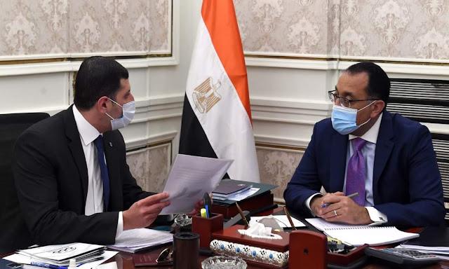 رئيس الوزراء يلتقى الرئيس التنفيذي للهيئة العامة للاستثمار والمناطق الحرة لاستعراض ملفات عمل الهيئة