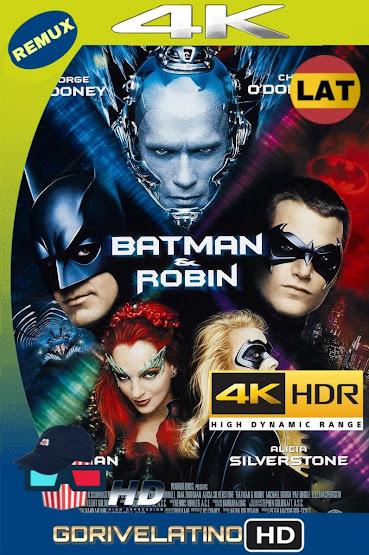 Batman y Robin (1997) BDRemux 4K HDR Lat-Cas-Ing MKV
