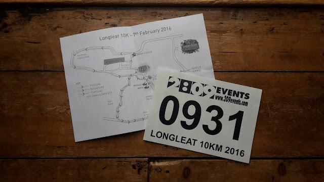 Project 366 2016 day 32 - Longleat 10k race number // 76sunflowers