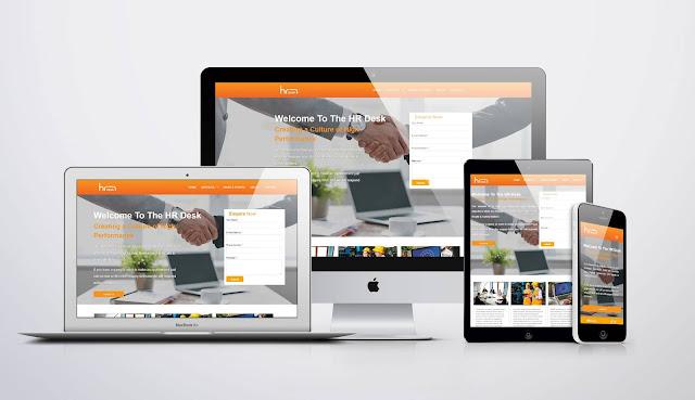 The HR Desk Website