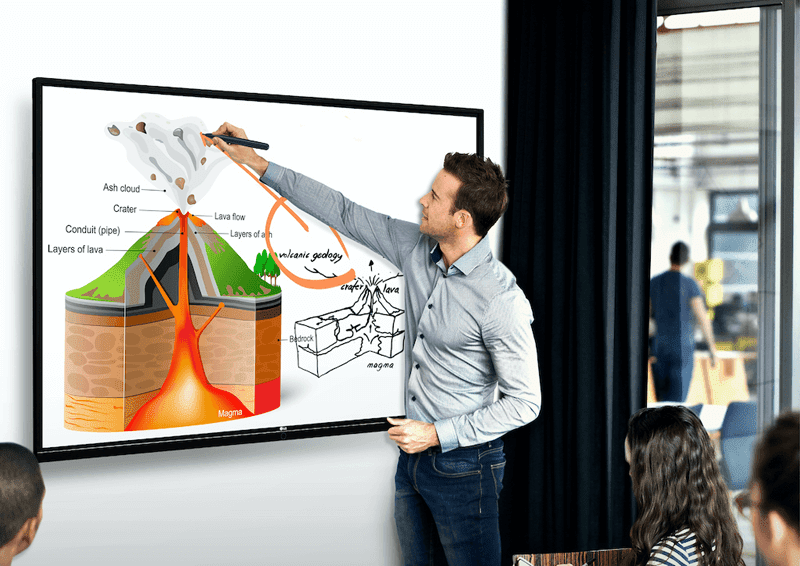 LG's Interactive Digital Board could be great for virtual learning