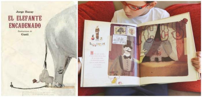 mejores cuentos niños 5 a 8 años, el elefante encadenado