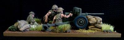 Warlord Games USMC Anti Tank Gun