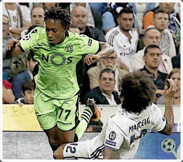 Gelson Martins Sporting Real Madrid Marcelo