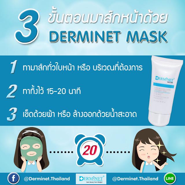 มาส์กสำหรับคนเป็นสิว Pore Reduced & Acne Treatment Mask