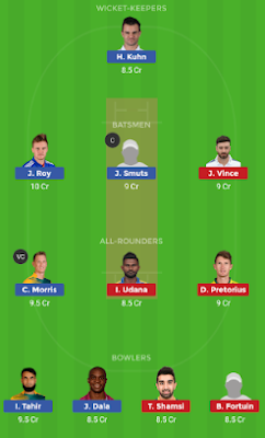 PR vs NMG dream 11 team | NMG vs PR