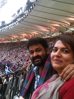 mohanlal at london olympics