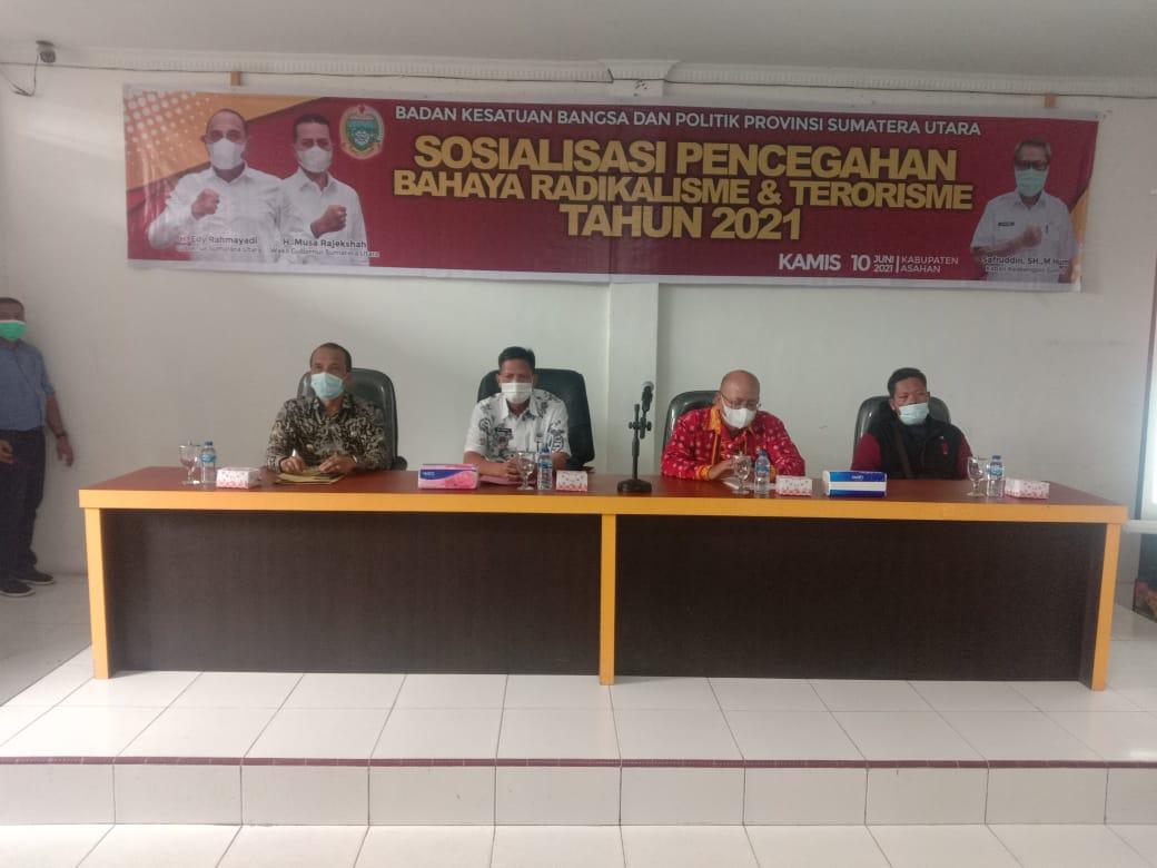 Sosialisasi Pencegahan Bahaya Radikalisme dan Terorisme Tahun 2021.