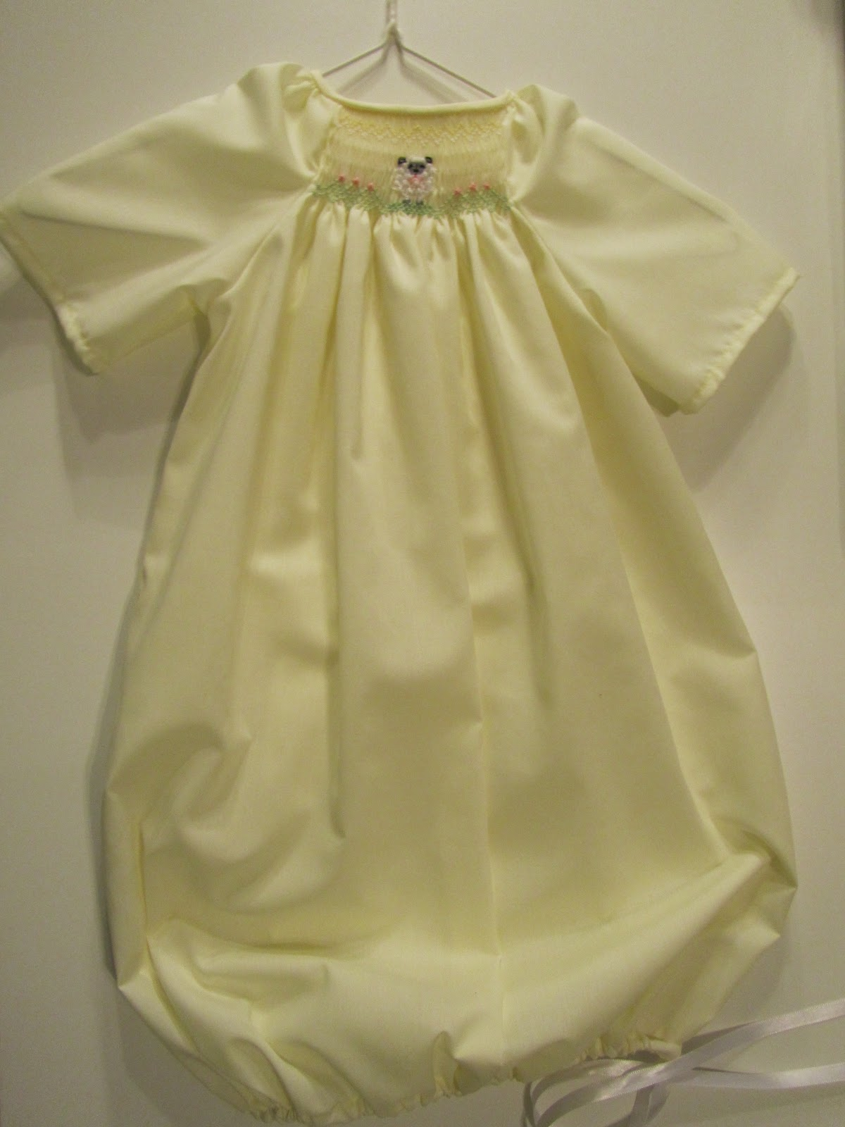 Smock Sew And Be Merry Smocked Baby Gowns