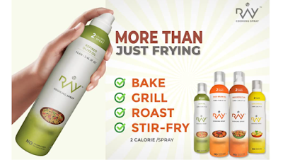 LB Ray Cooking Spray Oil to Control Weight and Living Healthy Lifestyle