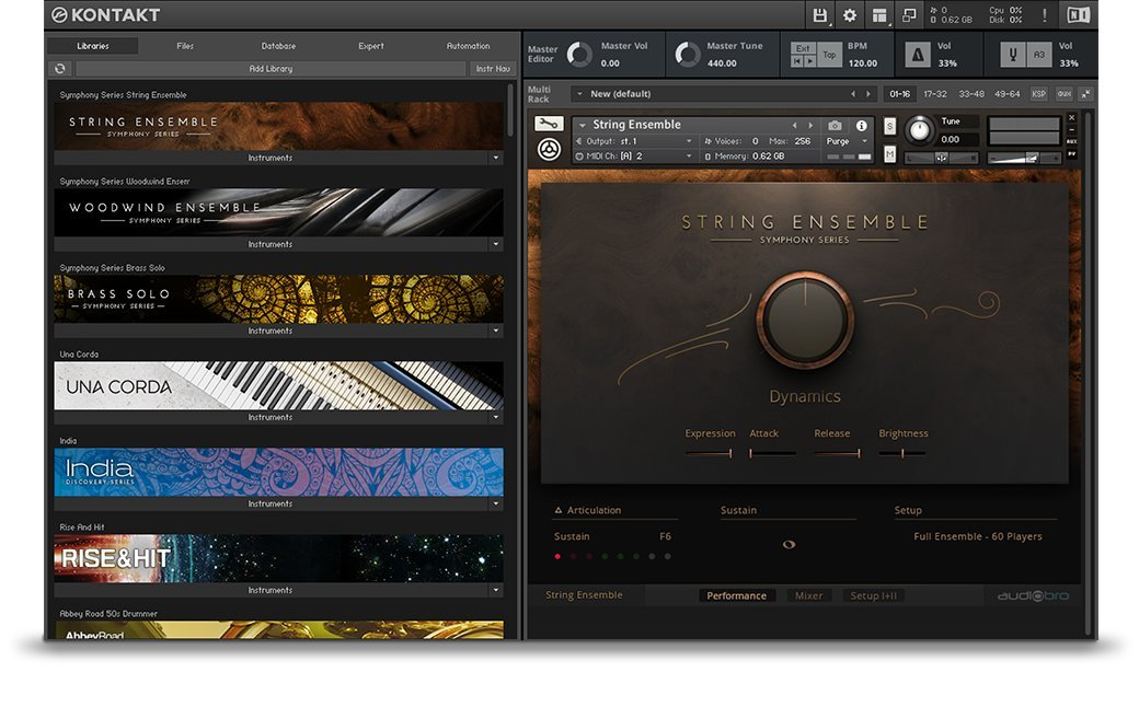 Native Instruments Kontakt 5.6.8 Full