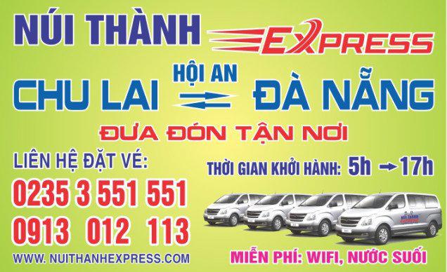 Hệ thống xe buýt, xe du lịch, taxi Đà Nẵng, Quảng Nam, Huế