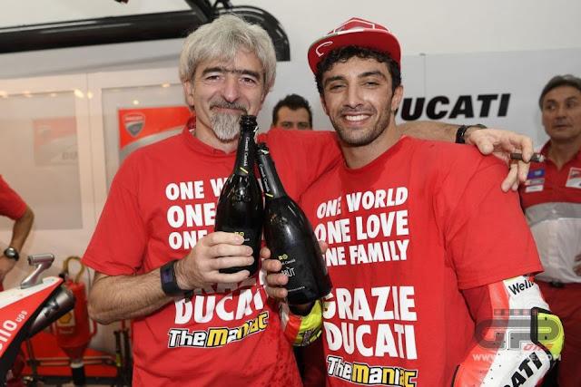 berita motogp Menahan rasa sakit, Iannone berpikir, mustahil podium di Valencia