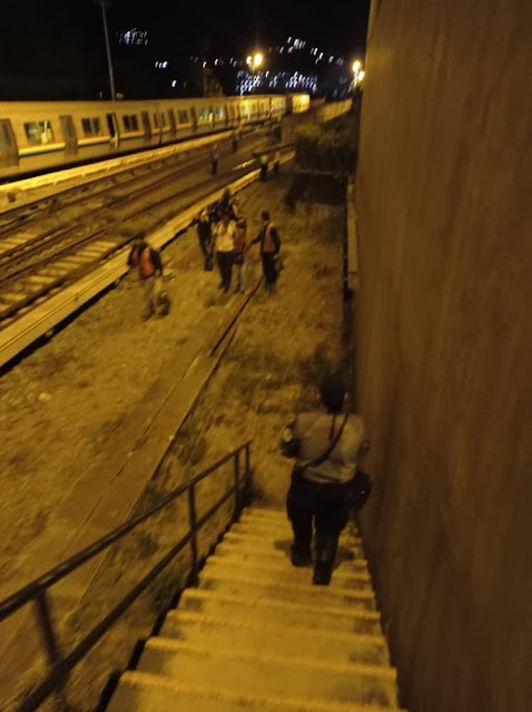 Metro en Caricuao