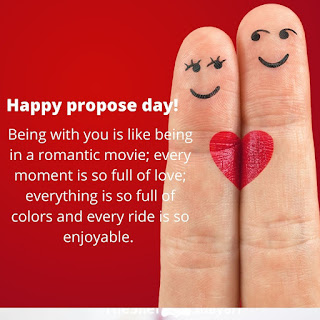 Happy Propose Day Quotes  Romantic Propose Day