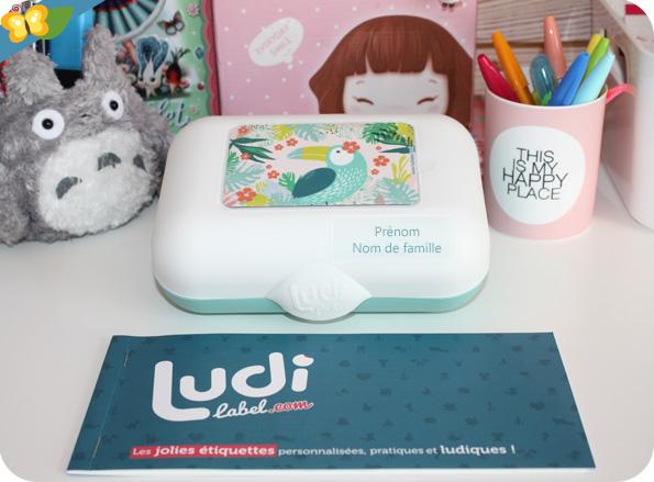 Ludibox et étiquettes personnalisées Ludilabel