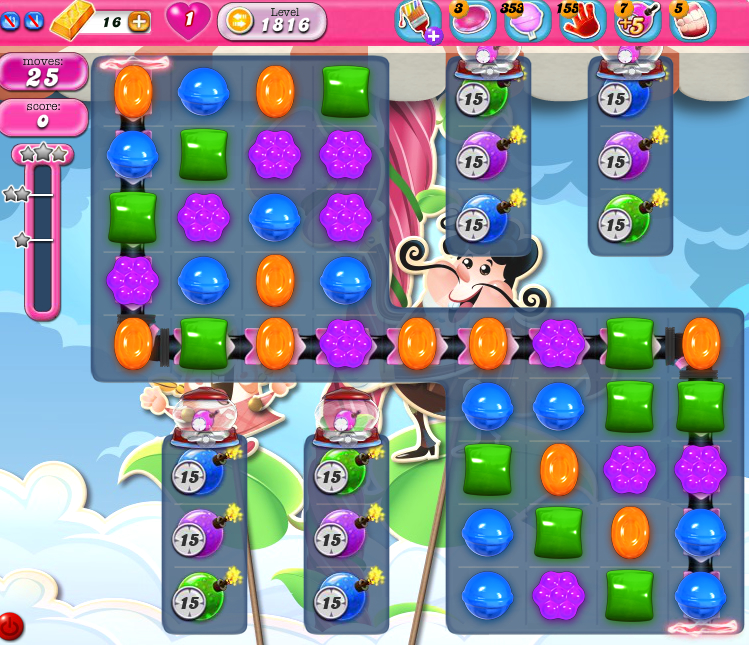Candy Crush Saga 1816