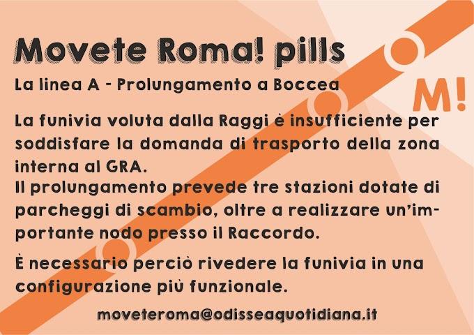 Movète Roma Pillola, numero 3, Metro o Funivia?