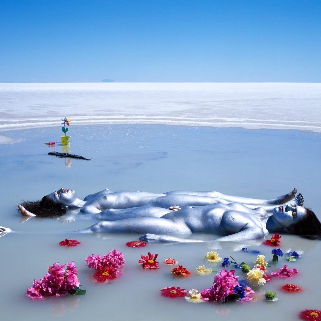 JEAN PAUL BOURDIER - Paesaggio e corpo come tela