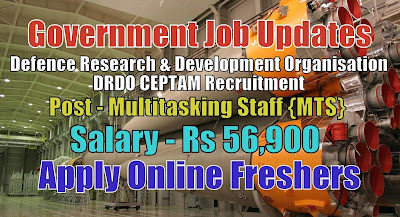 DRDO CEPTAM Recruitment 2020