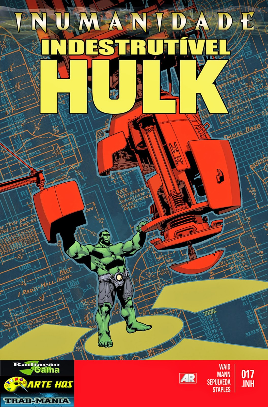 Nova Marvel! O Indestrutível Hulk #17