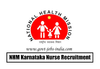 NHM Karnataka Nurse Recruitment 2020