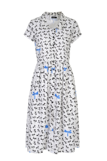 MASABAXFABALLEY DRAGON FLY SHIRT DRESS- INR 3400