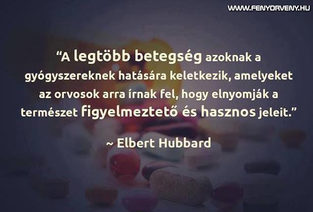 A legtöbb betegség a gyógyszerek hatása