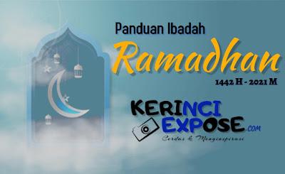 Berikut Panduan Ibadah Ramadhan dan Idul Fitri 1442 H - 2021 M