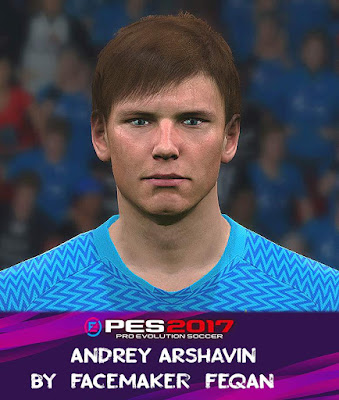 Arshavin Face Pes 2017 by Feqan