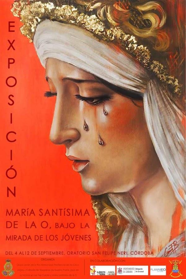 Cartel Exposición La Virgen de la O bajo la mirada de los jóvenes