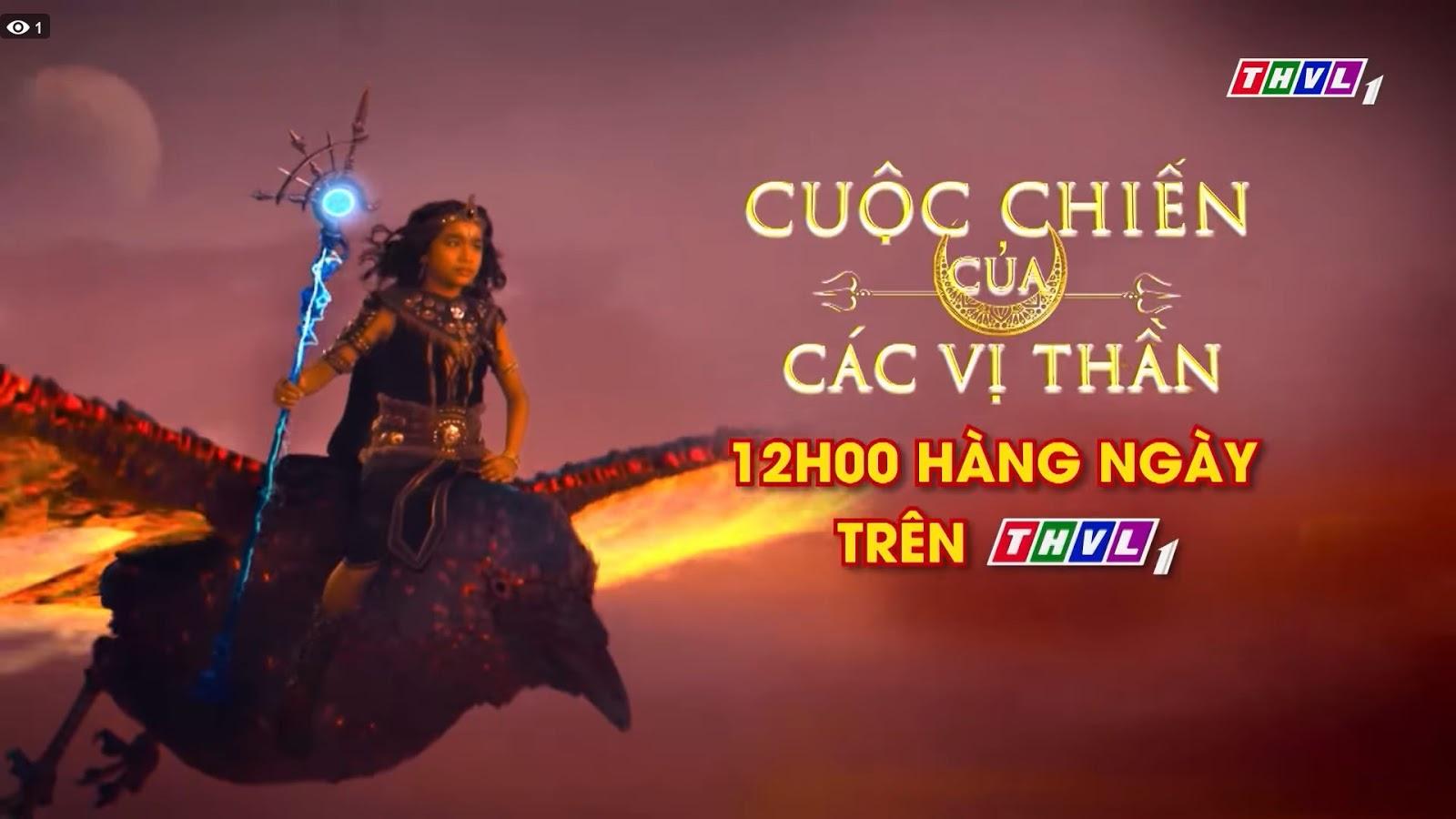 Phim Cuộc Chiến Của Các Vị Thần-THVL1 Truyền Hình Ấn Độ (2019)