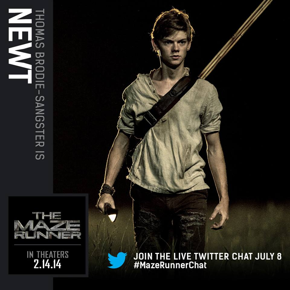 Maze Runner New Pictures of the movie adaptation : Teaser ...